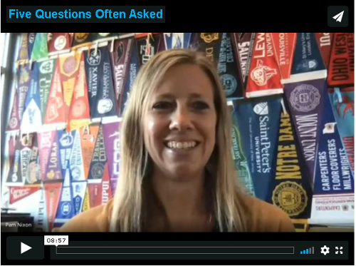 Five Often Asked Questions Video