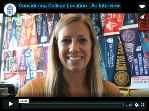How to consider college location in your college search