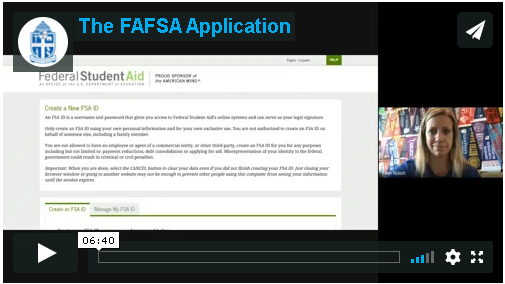 Video 8: The FAFSA